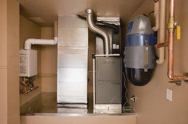 Appliances in basement
