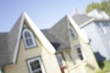 Colonial style houses , Halifax , Nova Scotia , Canada
