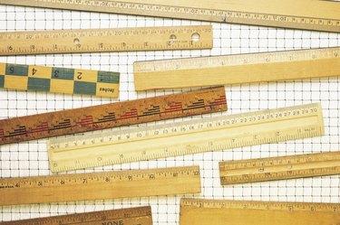 Assorted rulers