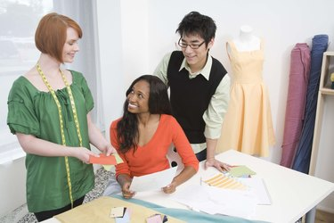 Fashion design team