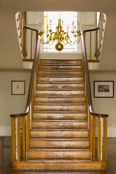 Ornate stairwell