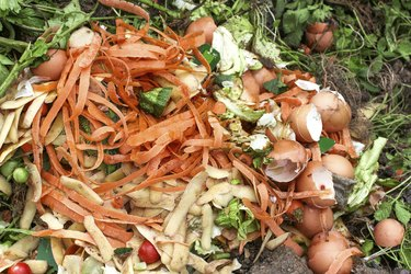 Compost for composted earth