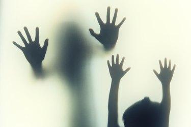 hand's shadow