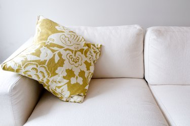 Pillow on comfortable couch