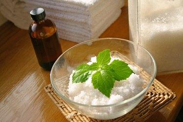 Bath Salt Beauty Treatment