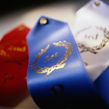 Ribbons for Top Finishers
