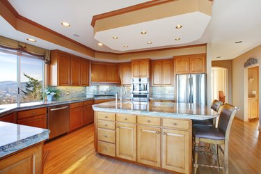 Luxuriant kitchen design