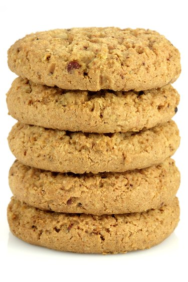 cranberry and oatmeal cookies