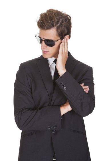 Portrait Of Male Spy