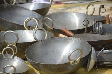 woks and griddles