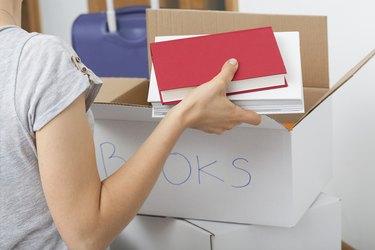 Arranging books