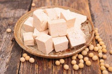 tofu and soybean