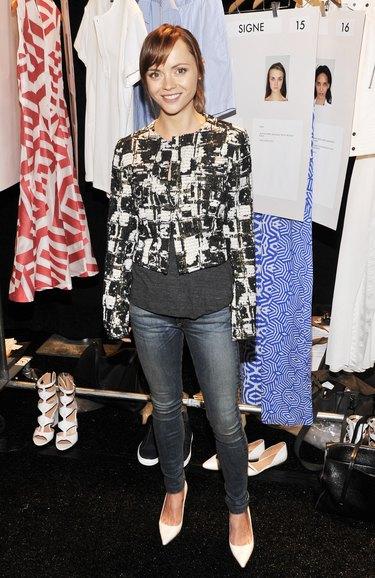 Richard Chai - Backstage - Mercedes-Benz Fashion Week Spring 2014