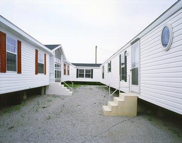 Three Trailer Homes on Lot, Ohio