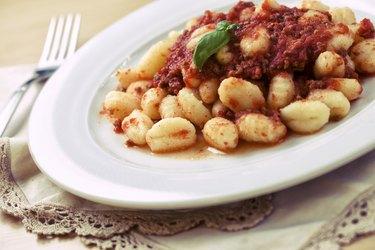 Gnocchi with ragù