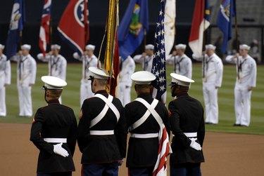 U.S. Marine Corps Color guard