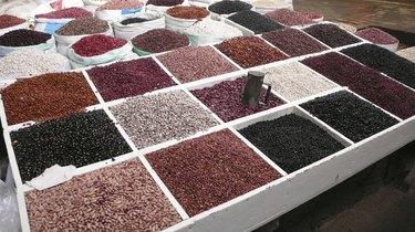 Beans. Market. San Cristobal de las Casas.