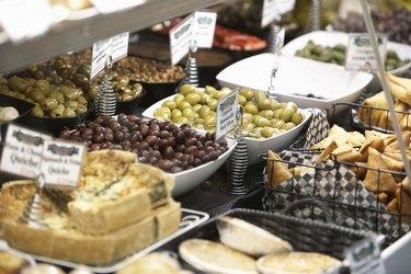 Food in deli