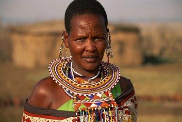 Portrait of a tribeswoman