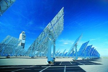 Solar Power Panels, Albuquerque, New Mexico, USA