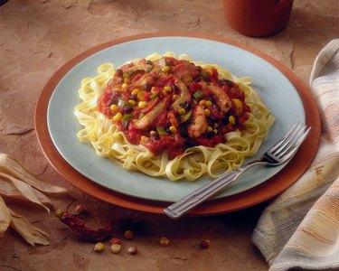 Southwestern style pasta