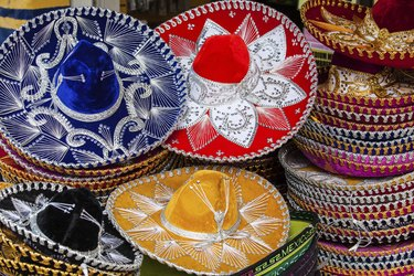 Colorful Mexican sombrero