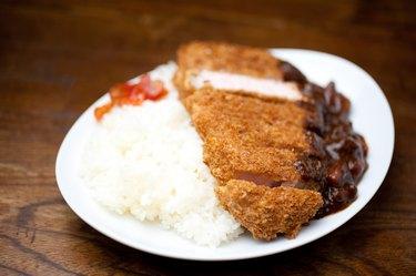 Japanese katsu karē (Curry)