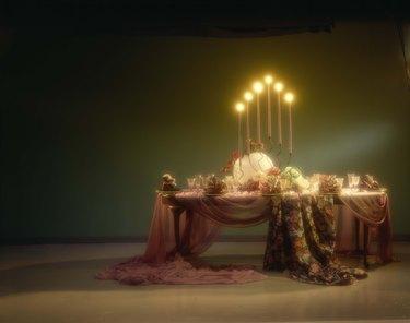 Lavish table setting