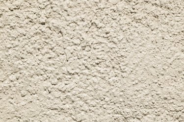Rough stucco surface