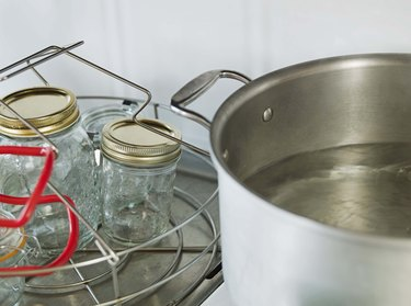 Cookware on a stovetop