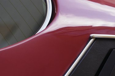 Close-up of a vehicle