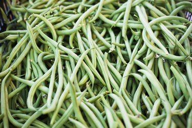 Green Beans heap