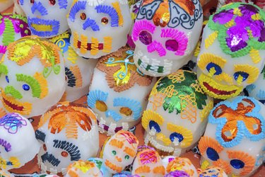 Sugar Skulls for the Day of the Dead