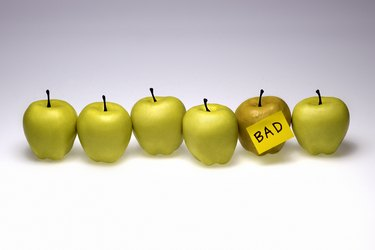 Bad apple with good apples