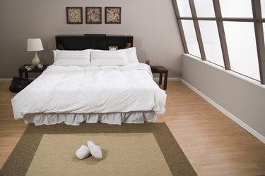 Empty bedroom
