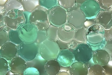 Gel crystal balls