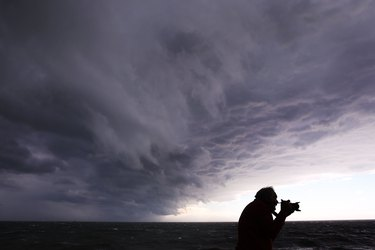 Wild Weather Hits Melbourne