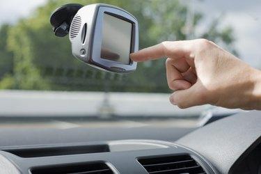 Car touch screen computer