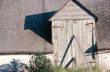 Sagging barn