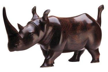 Rhinoceros figurine