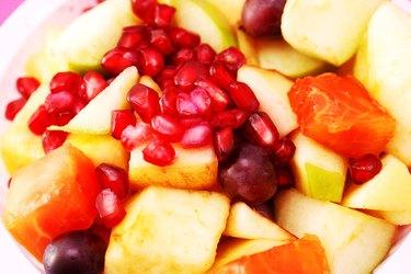 Studio shot of a fruit salad