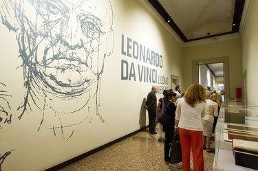 'Leonardo da Vinci, The Universal Man' Exhibition In Venice