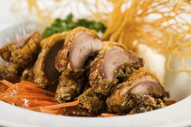 Asian Fried Duck