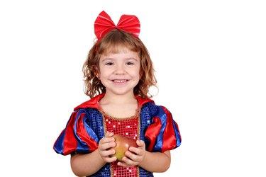 little girl snow white