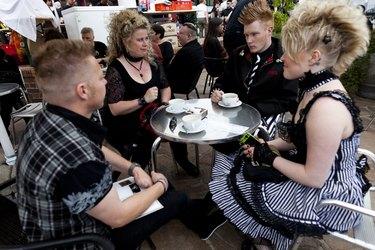 Goths Gather In Leipzig For Annual Music Fest
