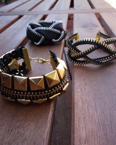 Zipper Bracelets DIY
