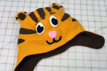 finished Daniel Tiger hat