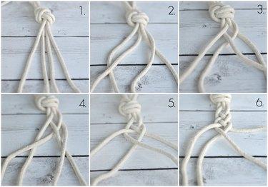 four strand braid instructions