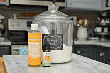 DIY Soft Scrub Cleaner to use in your kitchen and bathroom