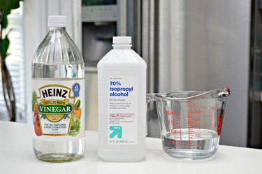 homemade auto glass cleaner ingredients